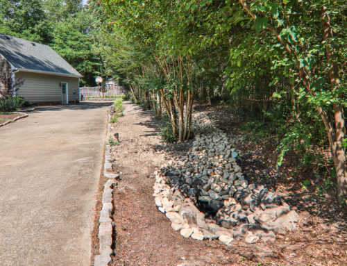 Yard Drainage Ditch for Henrico Homeowner