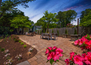 Large Paver Patio in Westhampton