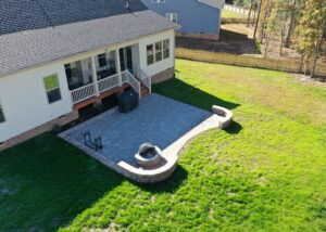 Large Patio Install in Midlothian